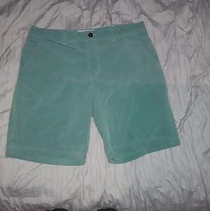 Arizona Jean's Co. Greenish Dress Shorts